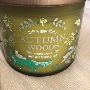 Autumn Woods 3 Wick Candle Essential Oil Bath&Body